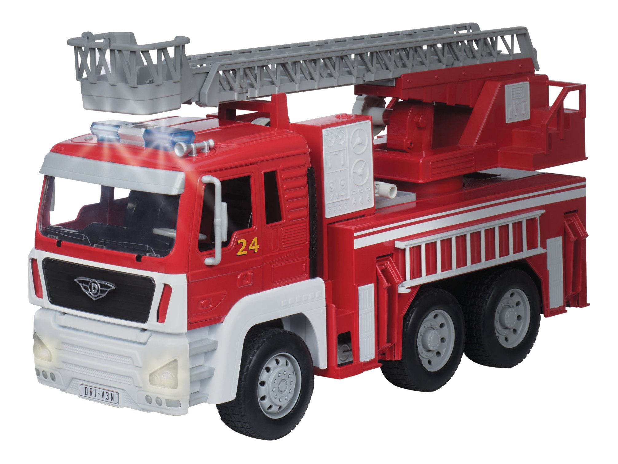 Driven by Battat - Fire Truck - Toy Vehicle
