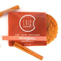 ChipMonk Cookies - Healthy, Low Carb, Keto, All-Natural & Gluten-Free Desserts & Snack Foods (Snickerdoodle, 6 cookies)