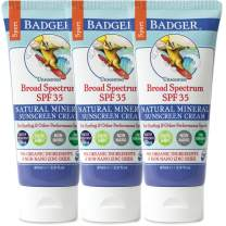 Badger - Sport Sunscreen Cream SPF 35-2.9 oz