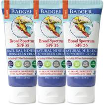 Badger - Sport Sunscreen Cream SPF 35-2.9 oz