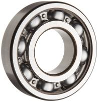 SKF 6305 JEM Medium Series Deep Groove Ball Bearing, Deep Groove Design, ABEC 1 Precision, Open, Steel Cage, C3 Clearance, 25mm Bore, 62mm OD, 17mm Width, 2610lbf Static Load Capacity, 5060lbf Dynamic Load Capacity