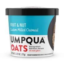 Umpqua Oats All Natural Oatmeal Cups, Fruit & Nut, 2.73 ounce, 12 Count