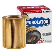 Purolator L25692 White Single Premium Engine Protection Cartridge Oil Filter