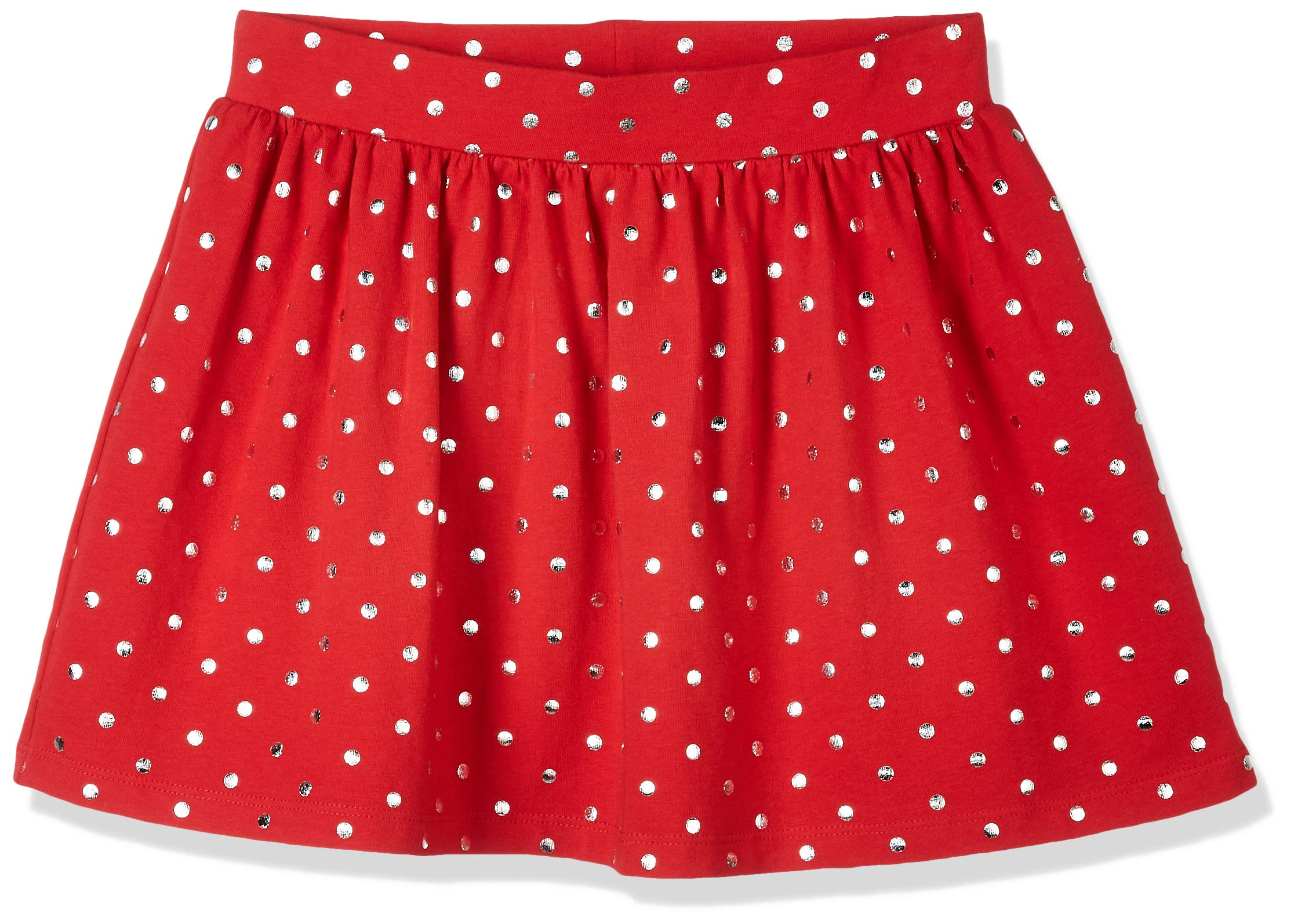 A for Awesome Youth Girls A-Line Printed Dots Skirt