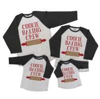 7 ate 9 Apparel Matching Family Christmas Shirts - Cookie Baking Crew Grey Shirt