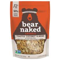 Bear Naked Toasted Coconut Almond Fit Granola - Gluten Free, Non-GMO, Kosher, Vegetarian Friendly - 12 Oz
