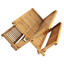 Totally Bamboo 20-6701 Dish Drying Rack, Brown