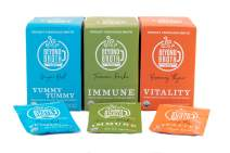 Beyond Broth Variety Pack Organic Vegan Vegetable Instant Sipping Broth For On The Go Or Cooking Keto, Paleo and Whole30 Friendly 6 single serve packets of each flavor, Made in the USA