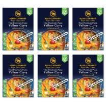 Blue Elephant Royal Thai Cuisine, Yellow Curry, Thai Premium Curry Paste, 2.4oz (Pack of 6)