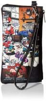 "Buckle-Down Buckle-Down Zip Wallet Harley Quinn Joker Large Accessory, Harley Quinn Joker, 8"" x 5"""