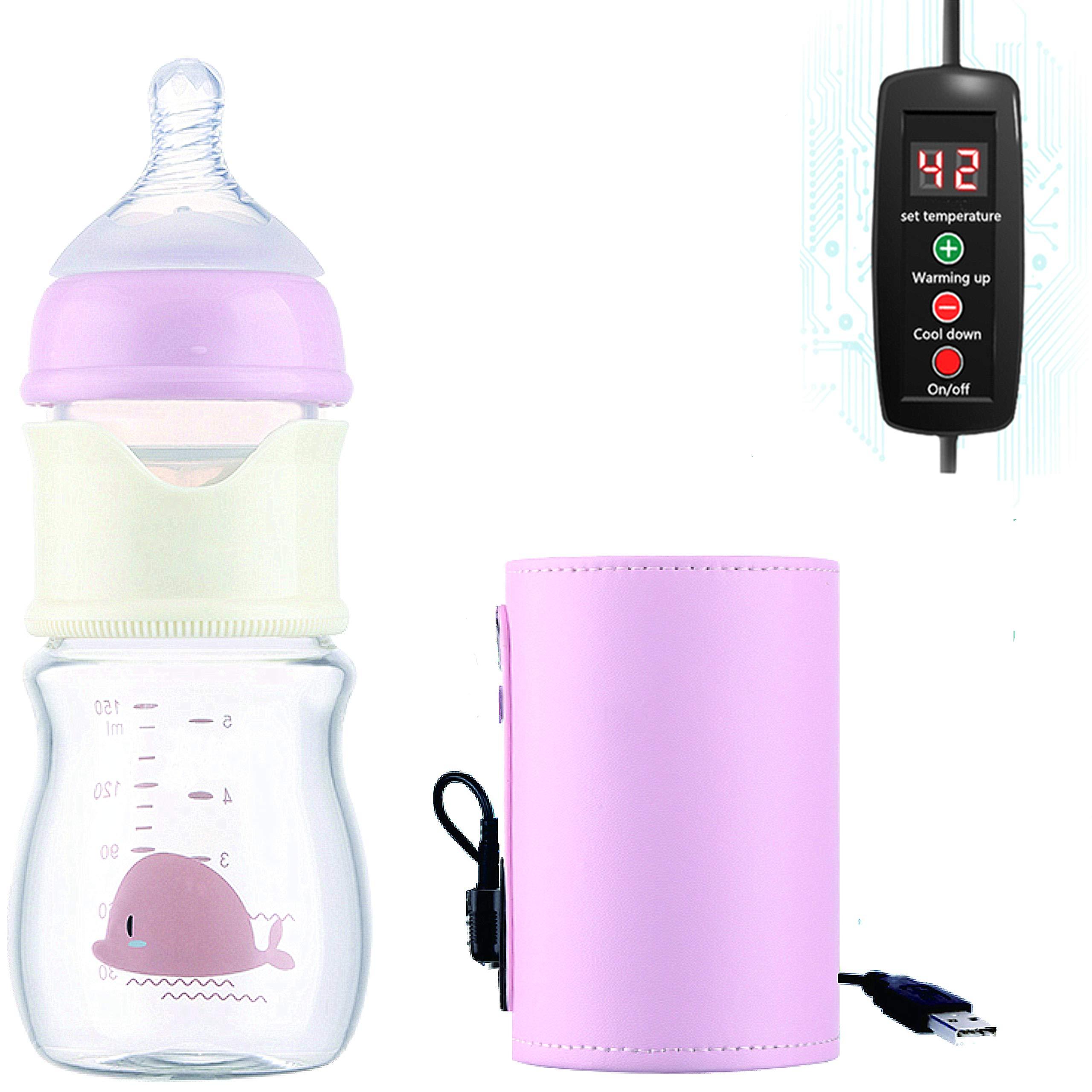 Baby Formula Dispenser,Baby Formula Maker Machine ,Baby Bottle Maker Machine Formula Milk Mixer Maker for Baby,Suitable for Breast Milk and Infant Formula(Pink)