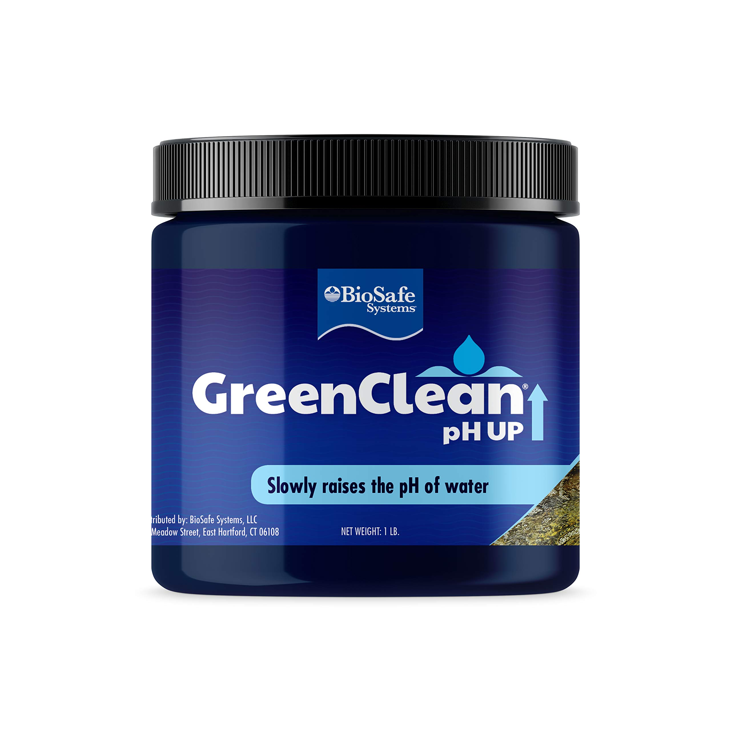 GreenClean pH UP Granular - 1 lb - pH Adjuster for Koi Ponds and Water Features. Safe for Fish, Plants, Pets and Wildlife.