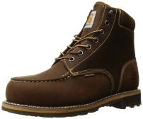 "Carhartt Men's 6"" Lug Bottom Moc Steel Toe Cmw6297 Industrial Boot"