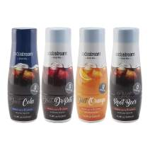 SodaStream Diet Fountain Sparkling Drink Mix Variety Pack, 440ml, (Pack of 4)