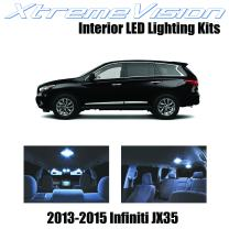 Xtremevision Interior LED for Infiniti JX35 2013-2015 (11 Pieces) Cool White Interior LED Kit + Installation Tool