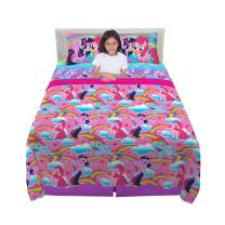 Franco Kids Bedding Sheet Set, 4 Piece Full Size, Hasbro My Little Pony