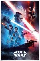 "Trends International Star Wars: The Rise of Skywalker - Official One Sheet, 22.375"" x 34"", Unframed Version"