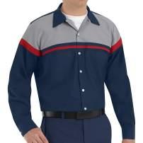 Red Kap Men's Performance Tech Long Sleeve Shirt