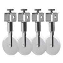 Ateco 13942 Multi Wheel Adjustable Dough Cutter with Lock - 2.2 in. Diameter. Straight Edge
