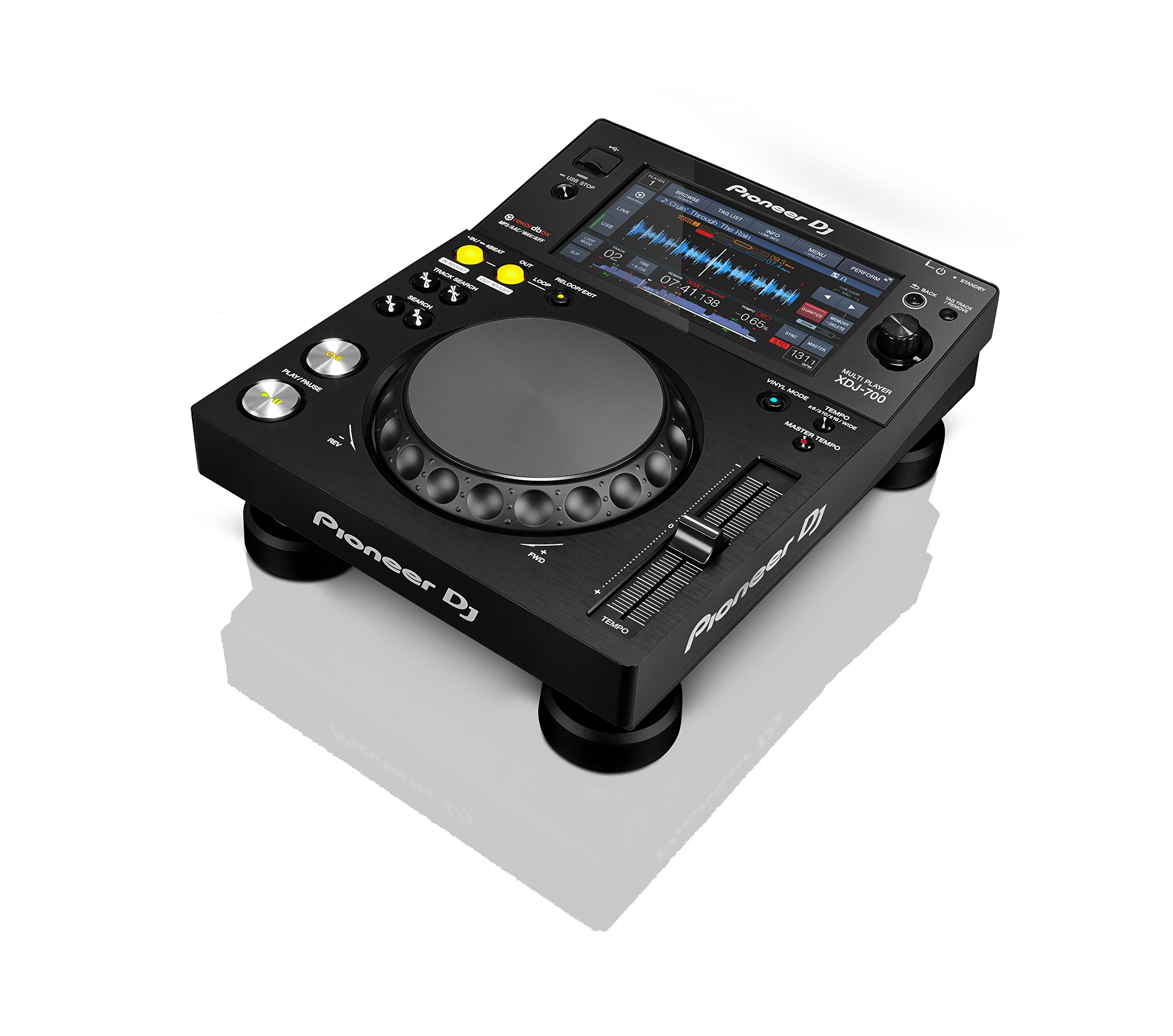 Pioneer DJ Digital Multi Media Player, Black, 8.10 x 12.80 x 16.30 (XDJ700)
