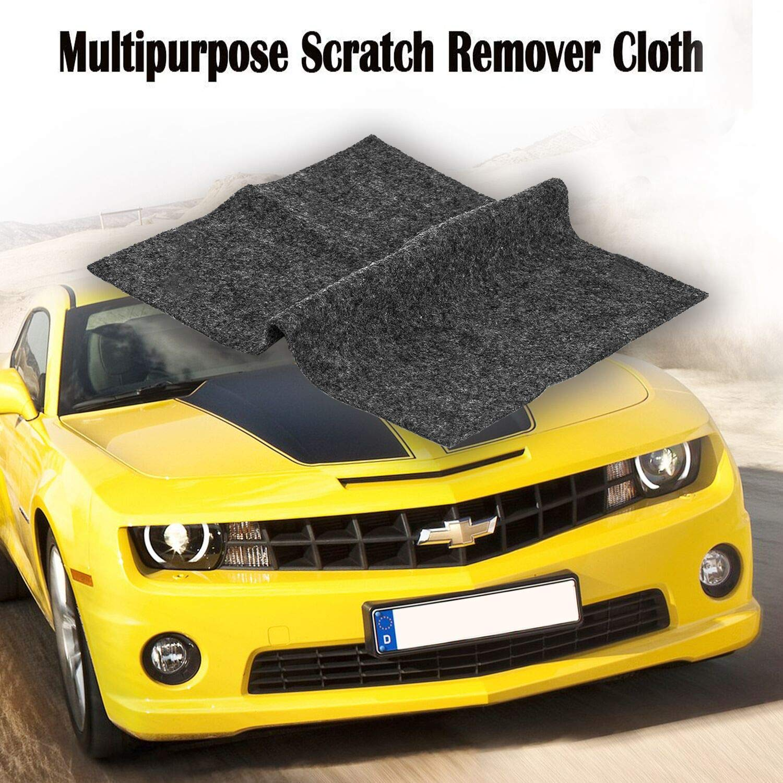 Bamoer [2 Pack] Multipurpose Scratch Repair Cloth,Car Paint Swirl Remover,Polish & Paint Restorer - Easily Repair Paint Scratches, Scratches, Water Spots! Light Scratch Repair for Cars