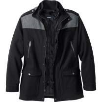 KingSize Men's Big & Tall Tall Wool Combat Jacket