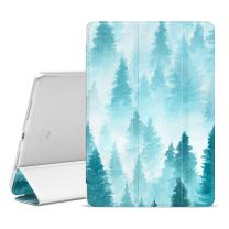 "Ayotu iPad Pro 9.7 Case,Slim Lightweight Auto Wake/Sleep Smart Stand Protective Cover Case with Translucent Frosted Back Magnetic Cover for Apple iPad Pro 9.7"" 2016-The Scenery"