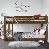 Dorel Living Phoenix Bed, Mocha Twin Bunk, Twin over Twin
