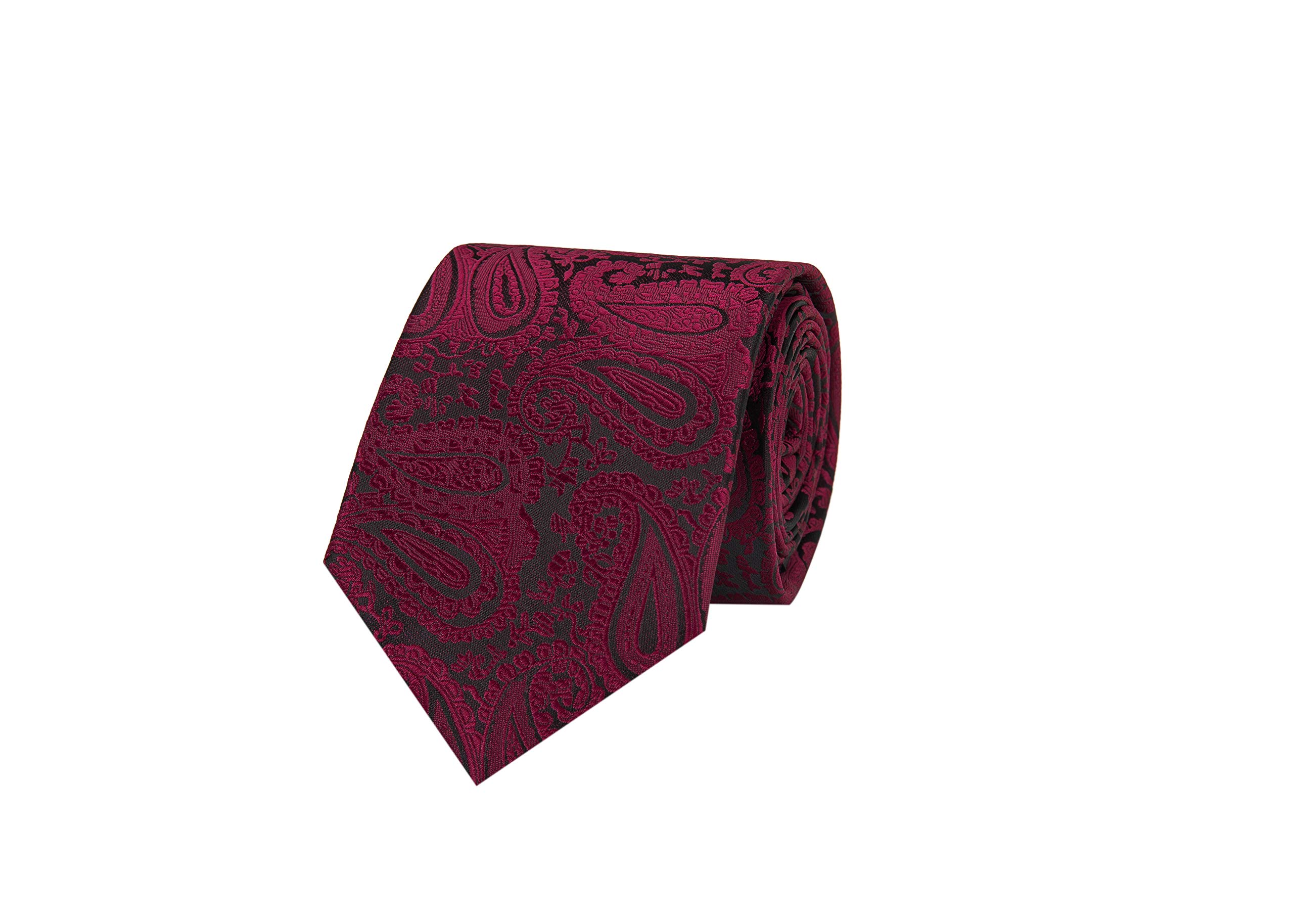 Espiaye Apparel Mens Luxury Italian Tie and Cuff link Necktie Set Great Gift