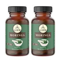 360 Capsules Organic Moringa Oleifera, Ultra-Premium –100% Organic Moringa Leaf Powder, 700mg Per Serving | Veg Capsules | Gluten Free | Antioxidant Supplement | Weight Loss and Anti-Aging