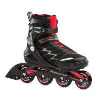 Bladerunner by Rollerblade Advantage Pro XT Men's Adult Fitness Inline Skate, Black and Red, Inline Skates