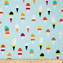 Art Gallery Fabrics 0450703 Art Gallery Boardwalk Delight I Scream, Fabric by The Yard