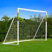 Net World Sports Forza Backyard Soccer Goals [5 Sizes] | Ultimate PVC Home Soccer Goal Posts | Soccer Nets for Backyard | Portable Soccer Goals & Soccer Goal Net