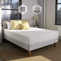 Sleep Innovations Shea 10-inch Memory Foam Mattress, Bed in a Box, Made in The USA, 20-Year Warranty - California King Size