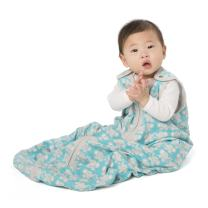 baby deedee Sleep Nest Lite Sleeping Bag Sack, Teal Elephant, Medium (6-18 Months)