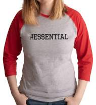7 ate 9 Apparel Womens #Essential Red Shirt