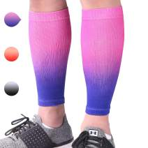 Aegend Calf Compression Sleeves for Men or Women - Great Support Compression Sleeves for Running, Cycling, Traveling