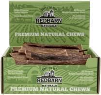 Redbarn Barky Bark Dog Treat, 6 Inch Medium, Naturals, 200 Count, 2 Pack