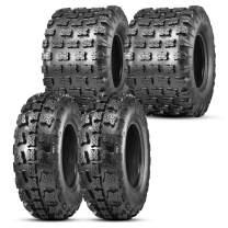 OBOR Advent ATV Tires 22x7-10&20x11-8, 6 Ply Sport ATV Tires for XC Terrain, Hardpack, Intermediate, Loose Loam, Sand Terrain, Mud Terrain(4 Pack, GNCC Champion Tire)