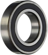 SKF 6311-2RS1 Radial Bearing, Single Row, Deep Groove Design, ABEC 1 Precision, Double Sealed, Contact, Normal Clearance, Steel Cage, Metric, 55mm Bore, 120mm OD, 29mm Width