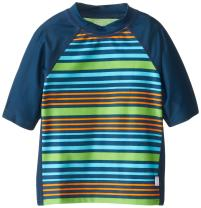 i play. by green sprouts Boys' Baby Unisex Short Sleeve Rash Guard UPF 50+