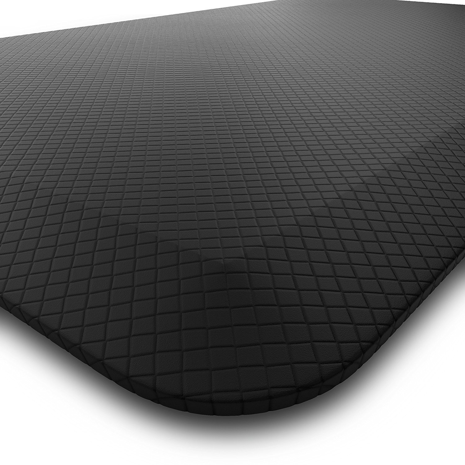 Homey Brands Anti Fatigue Kitchen Sink Mat   Large 20 x 39 Non Slip Standing Mat   Perfect for Home, Office, Garage, Hair Salon and More, Non-Toxic, Waterproof