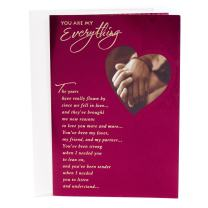 Hallmark Mahogany Valentine's Day Card for Significant Other (You are my Everything)
