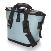 BUILT Welded Soft Portable Cooler with Wide Mouth Opening - Insulated and Leak-Proof, Small, Arctic Ice