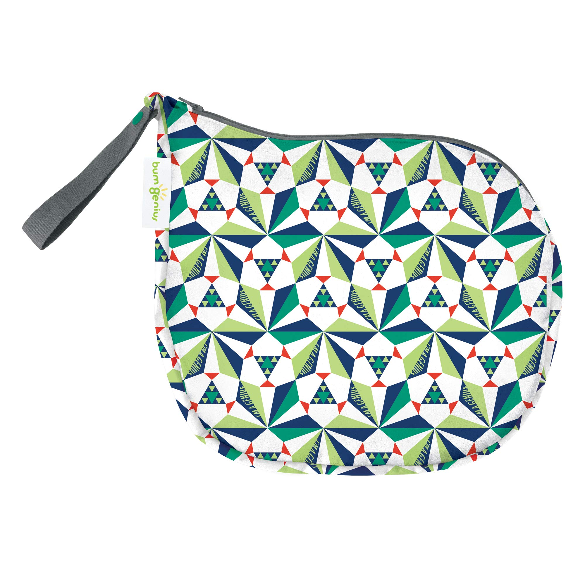 bumGenius Outing Wet Bag - Holds 3 to 5 Cloth Diapers (Sierpinski)