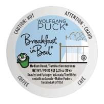 Wolfgang Puck Coffee Single Serve Capsules, Breakfast in Bed, Medium Roast, Compatible with Keurig K-Cup Brewers, 24 Count