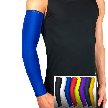 Arm Sleeves Cooling Compression Sleeves Cover UV Sun Protection For Men Cycling