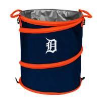 MLB Detroit Tigers Logo Collapsible 3-in-1 Cooler, Regular, Navy/Carrot