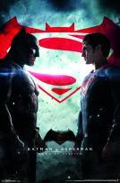 "Trends International Batman v Superman-One Sheet Premium Wall Poster, 22.375"" x 34"""