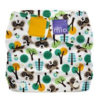 Bambino Mio, Miosolo All-in-One Cloth Diaper, OneSize, Raccoon Retreat